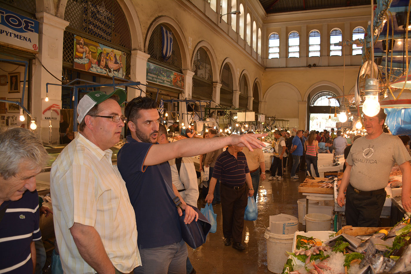 The Athens Central Market