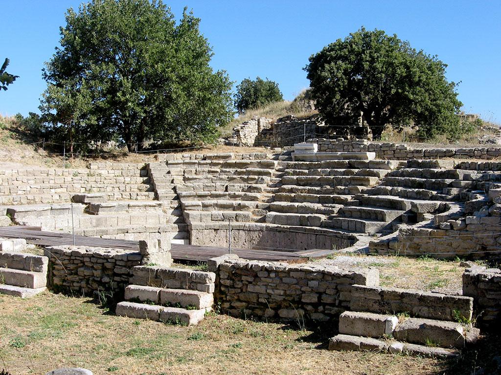 Troy-Turkey-Theater