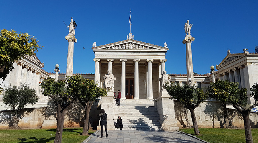 Athenian Trilogy: National Library, University of Athens & Academy - Take a walk on the …Neoclassical Side
