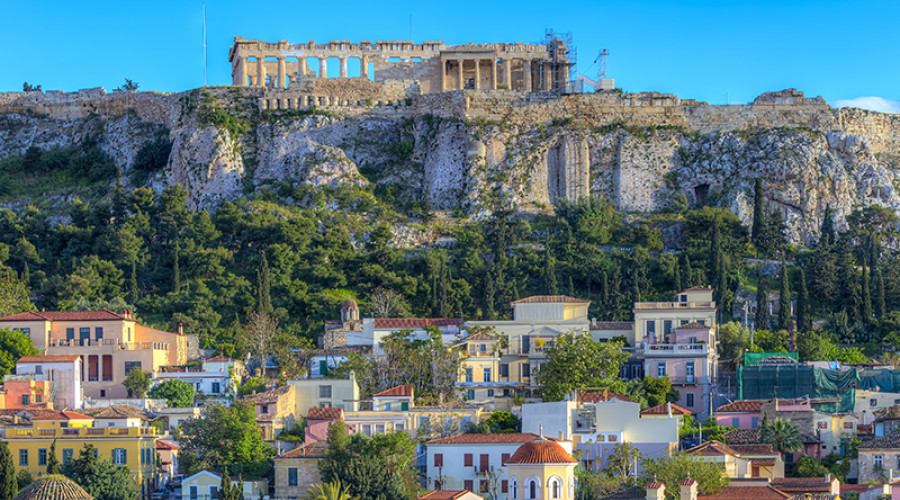 A city break in Athens